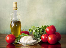 Italian fresh summer salad Stock Images