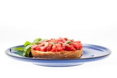 Italian friselle starter Royalty Free Stock Images