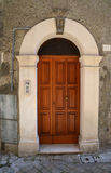 Italian front door Royalty Free Stock Images