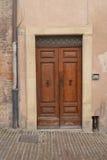Italian front door Stock Photo