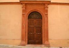Italian front door Stock Image