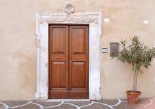 Italian front door Royalty Free Stock Photos
