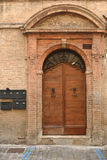 Italian front door Stock Photography