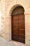Italian front door Royalty Free Stock Image