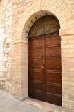 Italian front door Royalty Free Stock Image