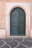 Italian front door Stock Photo