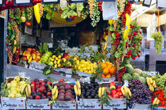 Italian Fruit stall Royalty Free Stock Images