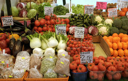 Italian fruit and vegetable market Stock Photography