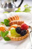 Italian fruits pastry Stock Photo
