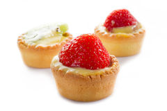 Italian fruits pastry Stock Image