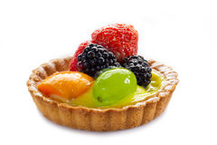 Italian fruits pastry Royalty Free Stock Photography
