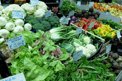Italian Fruits and vegetables Stock Image