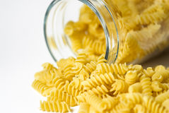 Italian fusilli pasta Stock Photography
