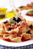 Italian Fusilli pasta with tuna Royalty Free Stock Photo