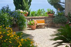 Italian garden Royalty Free Stock Photo