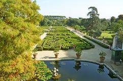 Italian garden Stock Photo