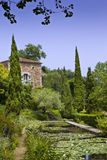 Italian garden Stock Photography