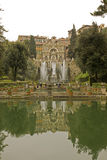 Italian garden with fountains Stock Photography