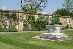 The Italian garden of Hever castle, England Royalty Free Stock Image