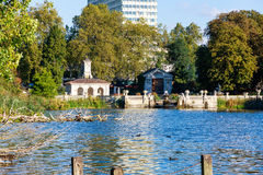 Italian Garden in Hyde Park Stock Images