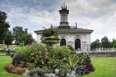 Italian Garden in Kensington Gardens, London. View of the Italian Garden in Kensington Gardens, London Royalty Free Stock Photography