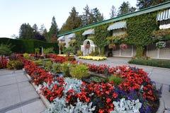 Italian garden landscaping Stock Photography