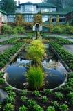 Italian garden landscaping Royalty Free Stock Photos