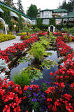 Italian garden landscaping Stock Photography