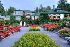 Italian garden landscaping Royalty Free Stock Image