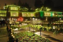 Italian garden lighting Royalty Free Stock Image