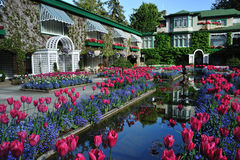Italian garden pond Royalty Free Stock Photography