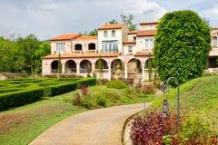 Italian garden style Stock Images