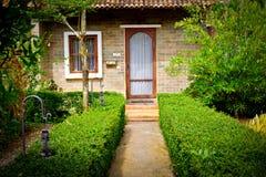 Italian garden style Stock Photo