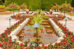 The Italian Gardens Royalty Free Stock Photography