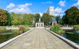 The Italian Gardens at Hyde Park. London Royalty Free Stock Photos