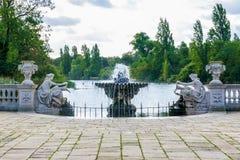 The Italian Gardens at Hyde Park. London Stock Photography