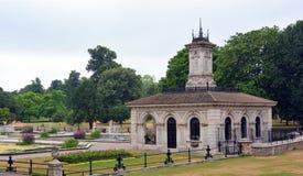 Italian Gardens - Hyde Park, London. The fountains and sunken water garden of the Italian Gardens - Hyde Park, London Royalty Free Stock Photography