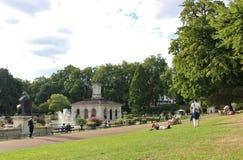 Italian Gardens, Kensington Gardens Stock Image