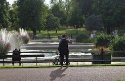 Italian Gardens, Kensington Gardens Royalty Free Stock Photos