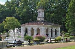 Italian Gardens, Kensington Gardens Stock Photo