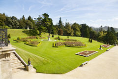Italian gardens at Powerscourt - Ireland Royalty Free Stock Photography