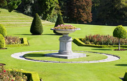 Italian gardens at Powerscourt in Ireland Stock Photography