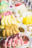 Italian gelatto ice cream. Detail Stock Photos