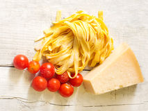 Italian genuine ingredients Royalty Free Stock Image