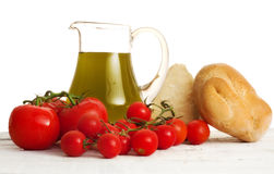 Italian genuine ingredients Stock Photo