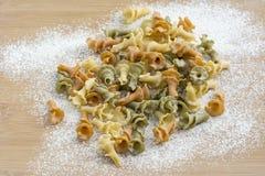 Italian Gigli pasta Royalty Free Stock Image
