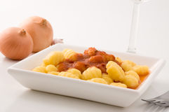 Italian gnocchi. Stock Photography