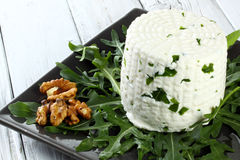 Italian goat cheese Stock Photography