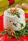 Italian goat cheese Royalty Free Stock Image