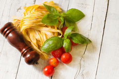 Italian gourmet ingredients Royalty Free Stock Image